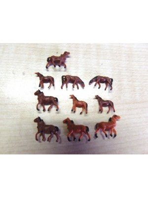 10 paarden (N)