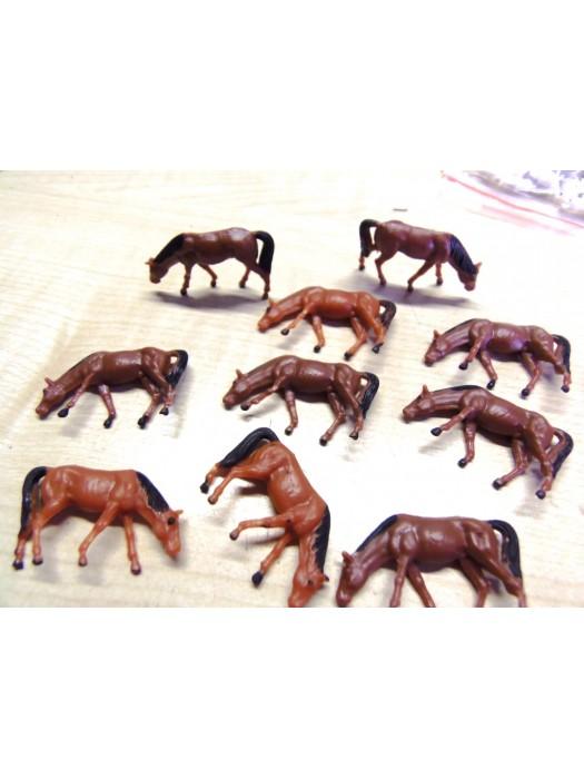 10 paarden (H0)