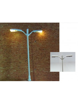 Dubbele straatlantaarn LED (H0)