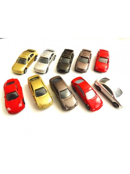 10 autootjes (H0)
